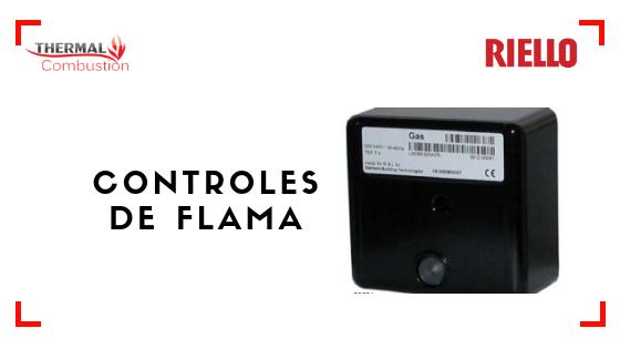 Controles de flama