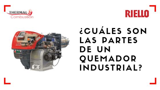 Quemador industrial