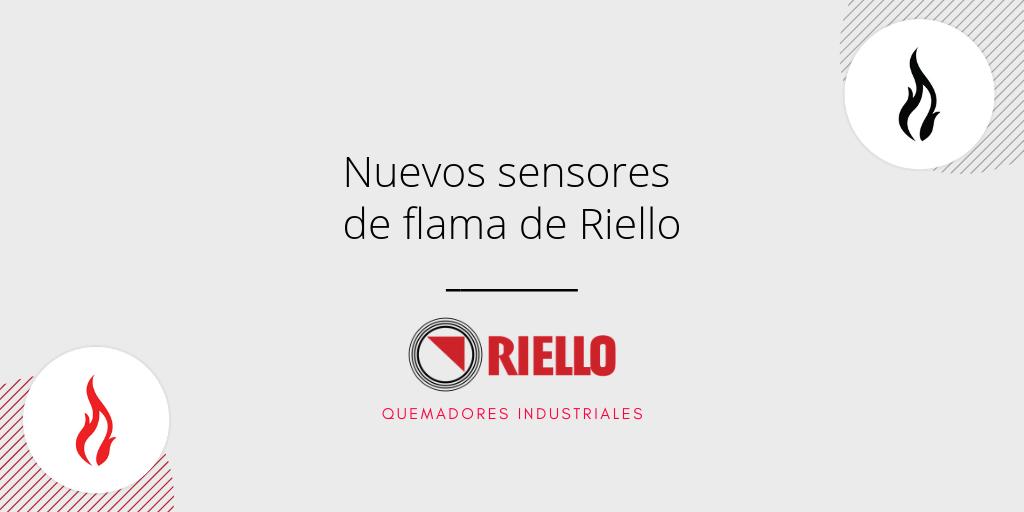 sensores de flama de Riello