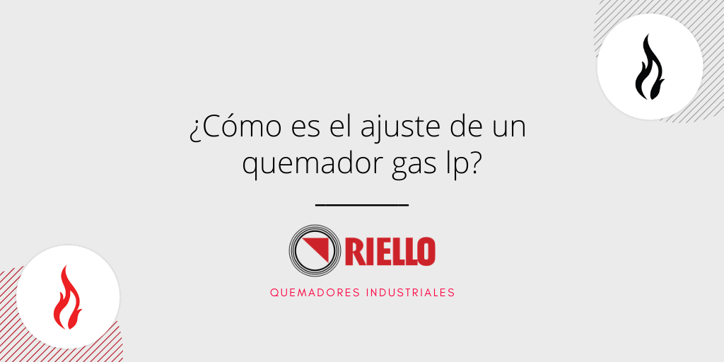Quemador gas lp